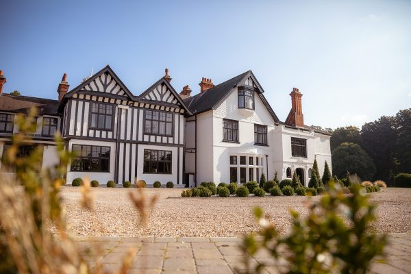 White country manor house and gardens for Cambridgeshire weddings