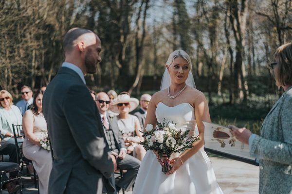 Say 'I Do' at Swynford Manor in a romantic outdoor wedding ceremony