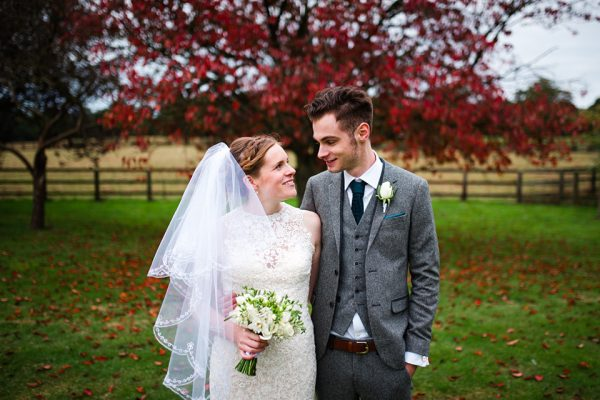 Swynford Manor looks beautiful all year round - perfect for an autumn wedding
