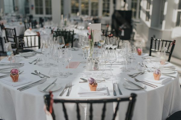 Decorate the Garden Room at Swynford Manor in many wedding themes and colours - Easter wedding ideas