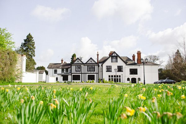 With daffodils in full bloom Swynford Manor is a wonderfully exclusive use wedding venue perfect for a spring wedding