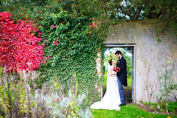 The gardens at this manor house wedding venue are perfect for photos - beautiful outdoor wedding venue