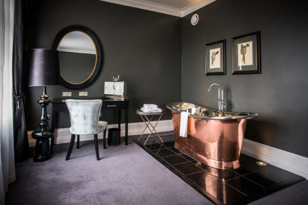 Wedding guests who spend the night at Swynford Manor following your wedding day can enjoy the boutique copper baths