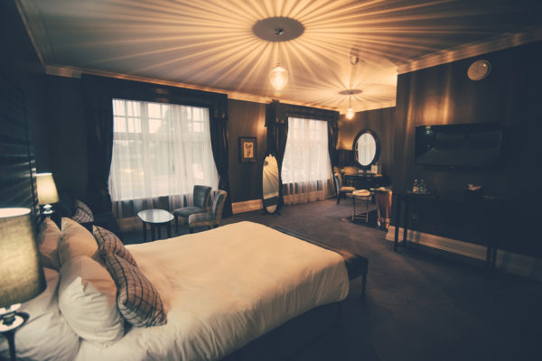 Beautiful boutique bedrooms are available for your guests to stay in after your wedding day at Swynford Manor