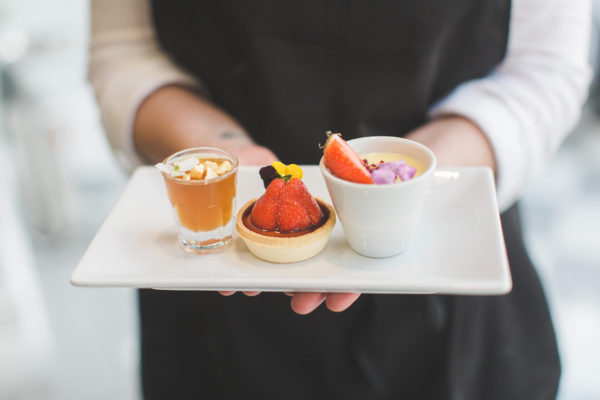 Treat guests to a selection of desserts during your wedding breakfast at Swynford Manor