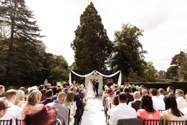 Make the most of summer at Swynford Manor with an outdoor wedding ceremony